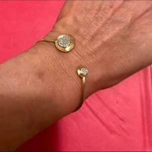 Jewelry - 14k gold and  diamond bracelet
